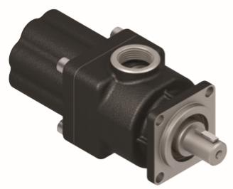 Pompa tłoczkowa prosta, dwukierunkowa, ISO, klin, 350bar, 20-60L