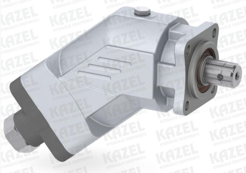 Pompa tłoczkowa skośna, aluminiowa, dwukierunkowa, ISO, wieloklinowy, 350-250bar, 23-125L