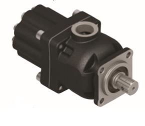 Pompa tłoczkowa prosta, dwukierunkowa, ISO, wieloklinowy, 270 bar, 60-80L