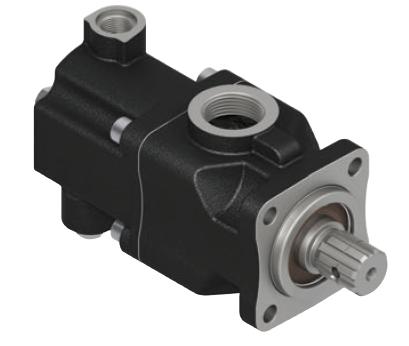 Pompa tłoczkowa prosta,dwukierunkowa, ISO, wieloklinowy 250bar, 26-52L