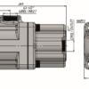 Pompa tłoczkowa prosta wymiary